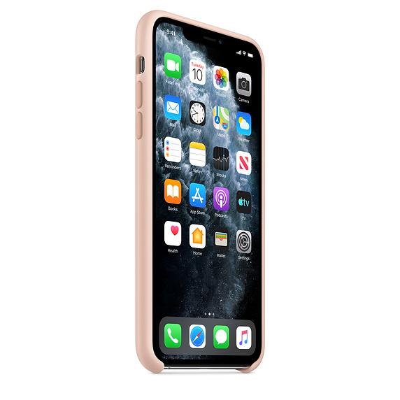 Apple silikónový obal pre iPhone 11 Pro Max – Ružový 2