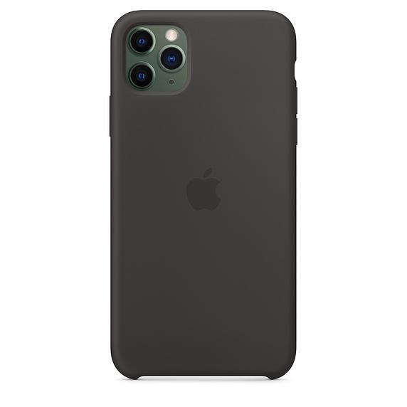 Apple silikónový obal pre iPhone 11 Pro - čierny 3