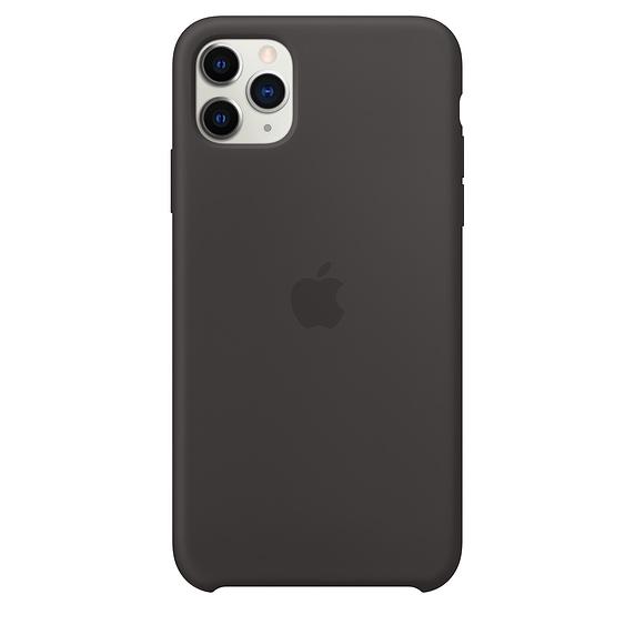 Apple silikónový obal pre iPhone 11 Pro - čierny 1