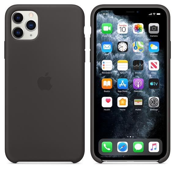 Apple silikónový obal pre iPhone 11 Pro - čierny 4