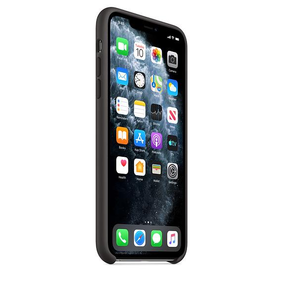 Apple silikónový obal pre iPhone 11 Pro - čierny 2