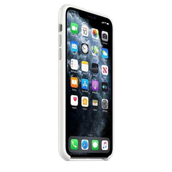 Apple silikónový obal pre iPhone 11 Pro Max – biely 2