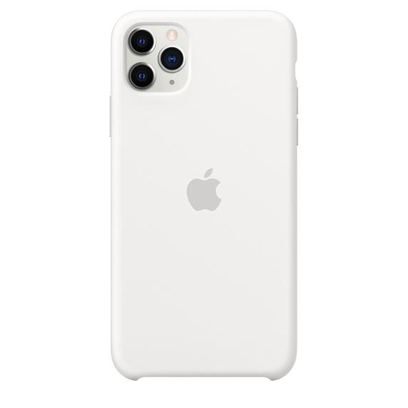 Apple silikónový obal pre iPhone 11 Pro Max – biely 1