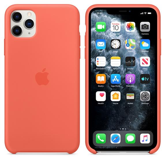 Apple silikónový obal pre iPhone 11 Pro – oranžový 4