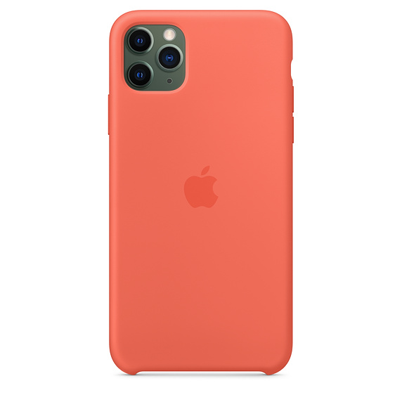 Apple silikónový obal pre iPhone 11 Pro – oranžový 3