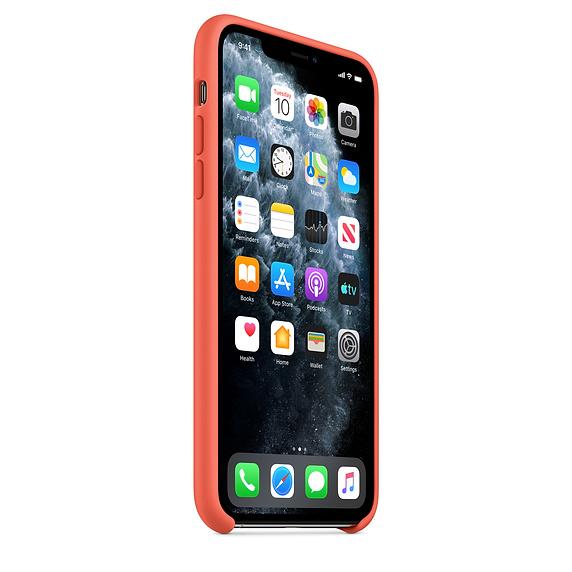 Apple silikónový obal pre iPhone 11 Pro – oranžový 2