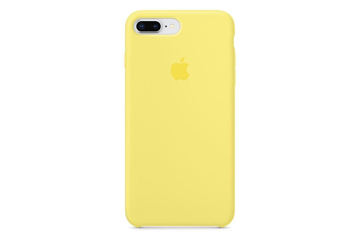 Apple silikónový obal pre iPhone 7 Plus / 8 Plus - žltý 1