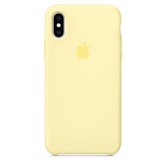 Apple silikónový obal pre iPhone XR - žltý 1