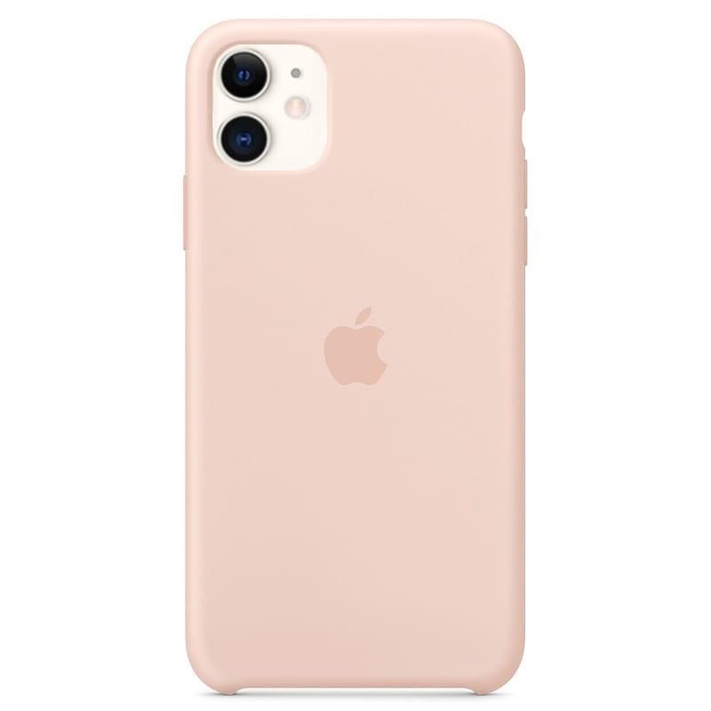 Apple silikónový obal pre iPhone 11 – Ružový 1