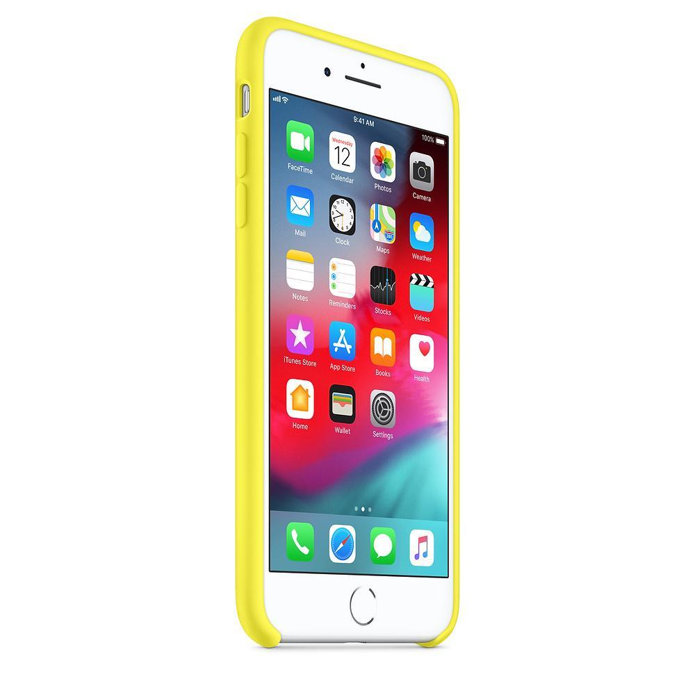 Apple silikónový obal pre iPhone SE 2020 - žltý 2