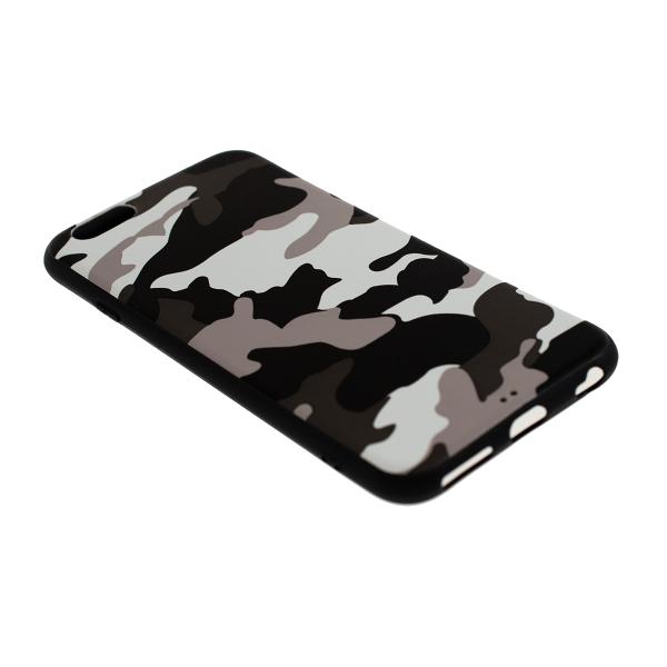 Ochranný Army obal pre iPhone 6 / 6S - biely 2