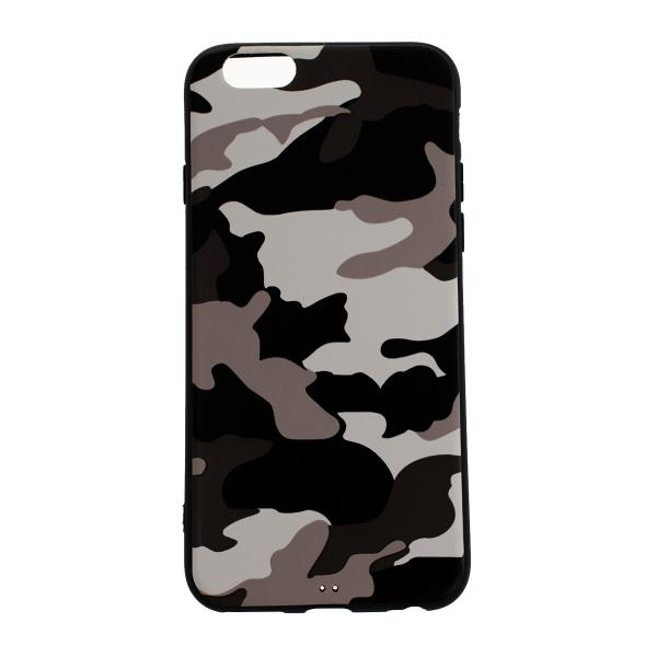Ochranný Army obal pre iPhone 6 / 6S - biely 1