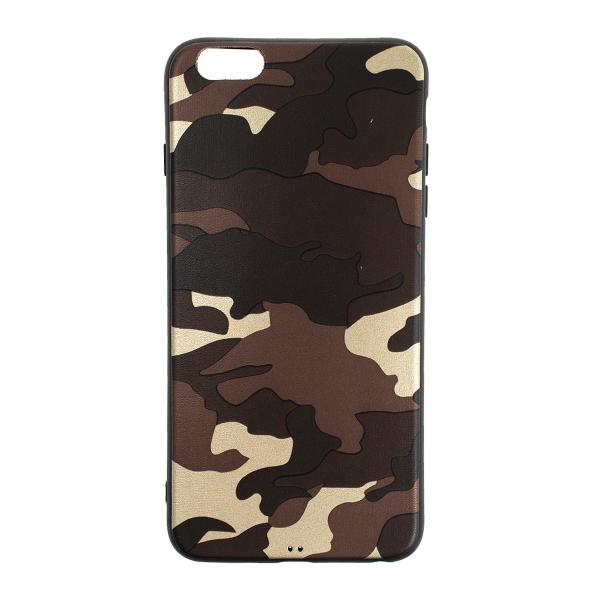 Ochranný Army obal pre iPhone 6 Plus / 6S Plus - hnedý 1