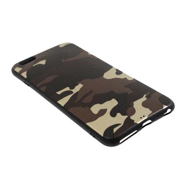 Ochranný Army obal pre iPhone 6 Plus / 6S Plus - hnedý 2