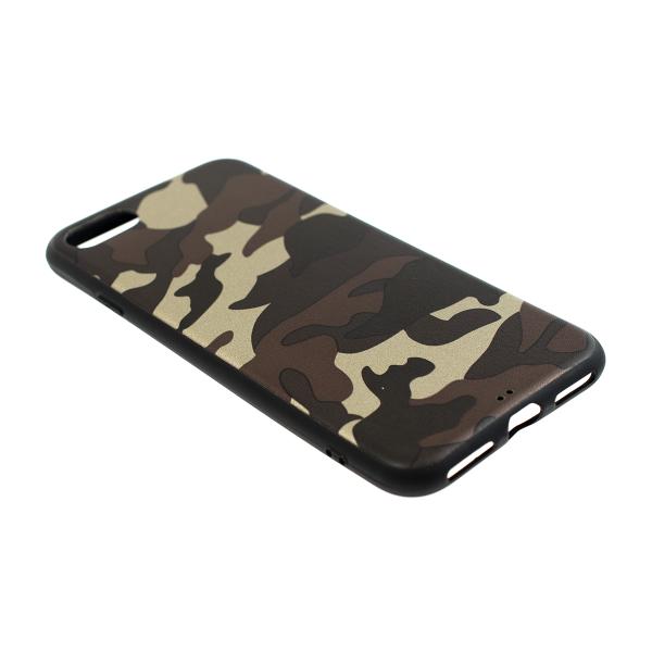 Ochranný Army obal pre iPhone SE 2020 - hnedý 2
