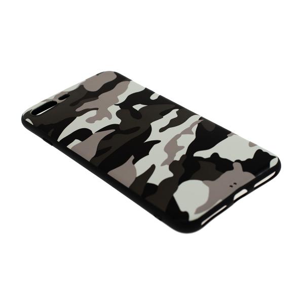 Ochranný Army obal pre iPhone 7 Plus / 8 Plus - biely 2