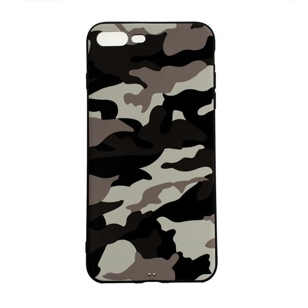 Ochranný Army obal pre iPhone 7 Plus / 8 Plus - biely 1