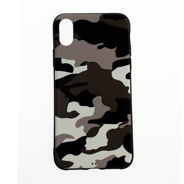 Ochranný Army obal pre iPhone X - biely 1