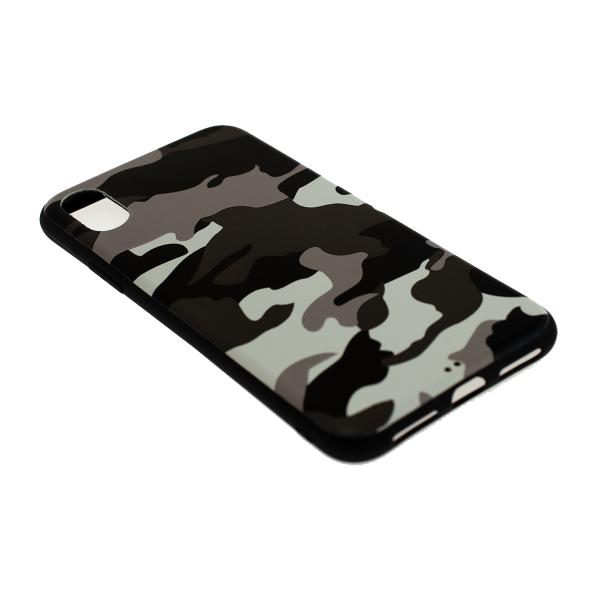 Ochranný Army obal pre iPhone X - biely 2