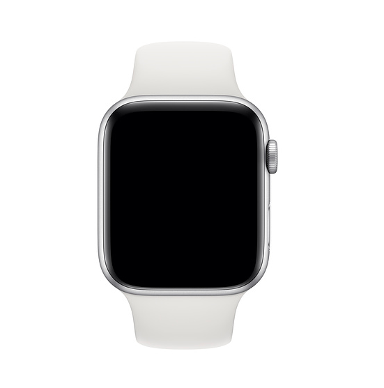 Remienok na Apple Watch 42mm / 44mm, športový biely 2