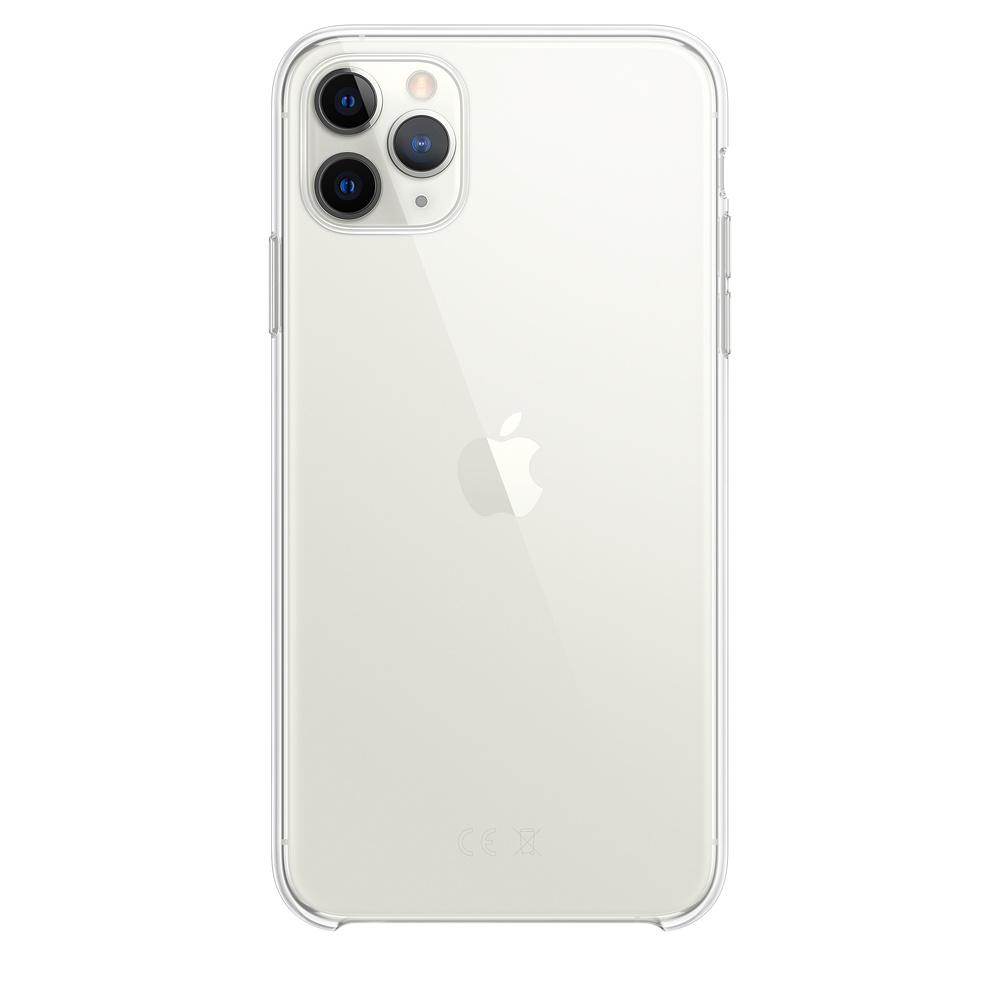 Ultratenký priehľadný silikónový obal pre iPhone 11 Pro Max 1