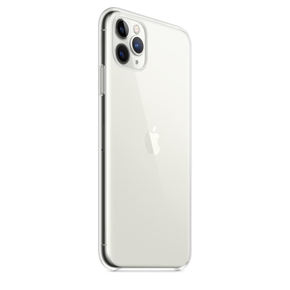 Ultratenký priehľadný silikónový obal pre iPhone 11 Pro Max 2