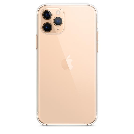 Ultratenký priehľadný silikónový obal pre iPhone 11 Pro 1