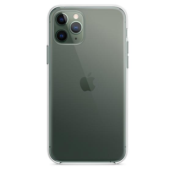 Ultratenký priehľadný silikónový obal pre iPhone 11 Pro 3