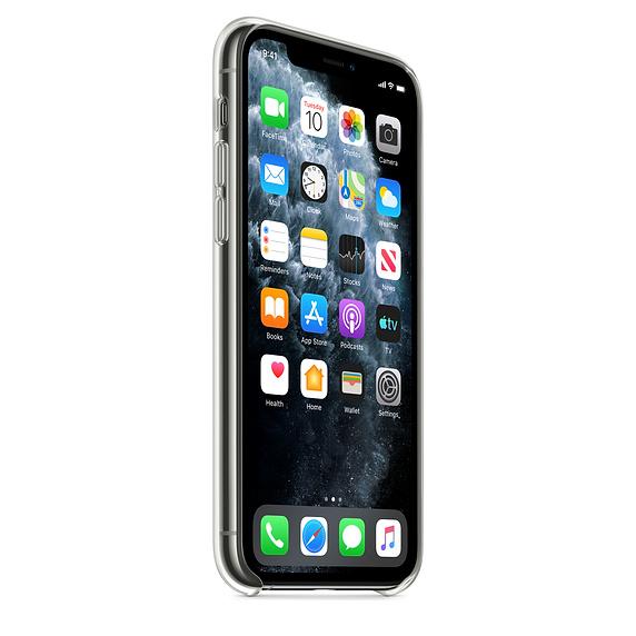 Ultratenký priehľadný silikónový obal pre iPhone 11 Pro 2