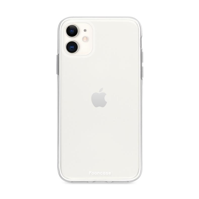 Ultratenký priehľadný silikónový obal pre iPhone 11 1