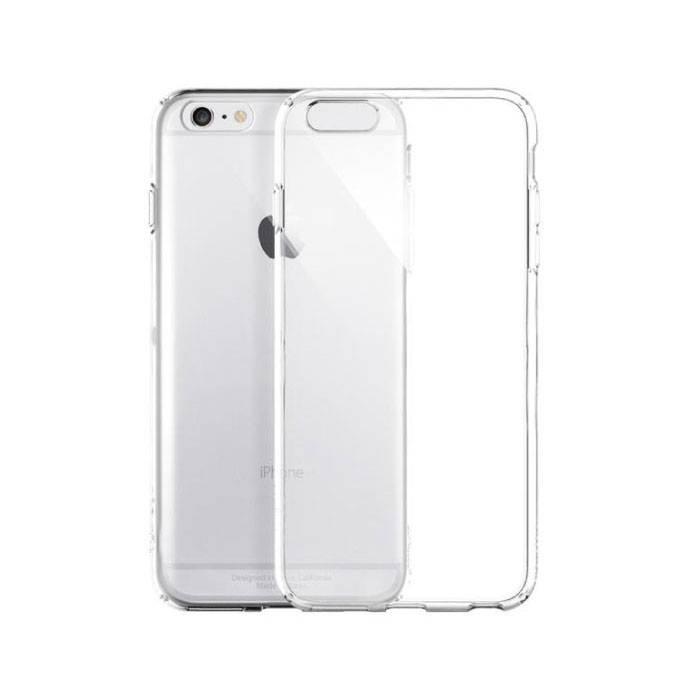 Ultratenký priehľadný silikónový obal pre iPhone 6 / 6S 1