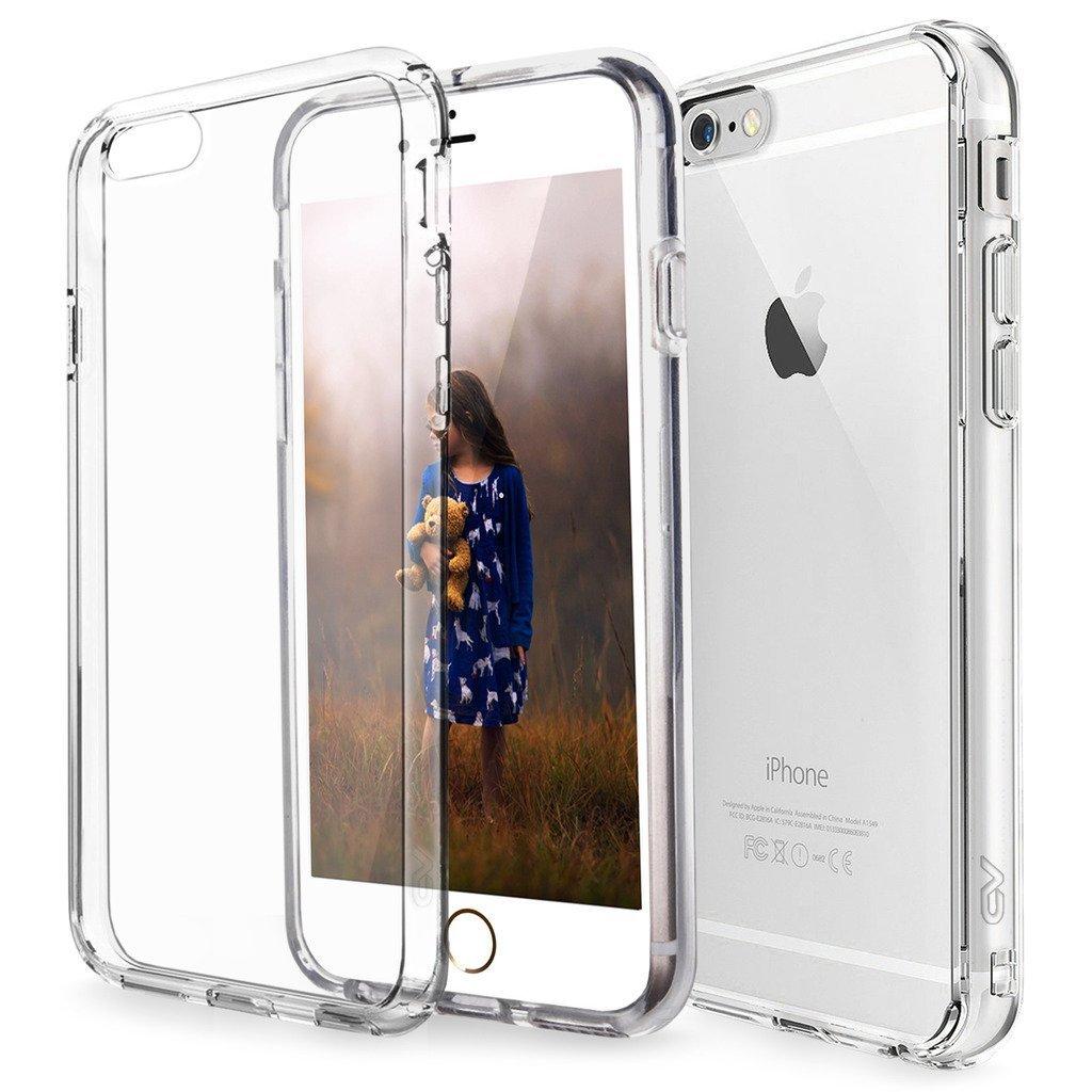 Ultratenký priehľadný silikónový obal pre iPhone 6 Plus / 6S Plus 1