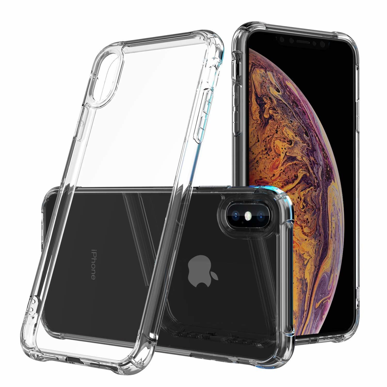 Ultratenký priehľadný silikónový obal pre iPhone XS Max 1