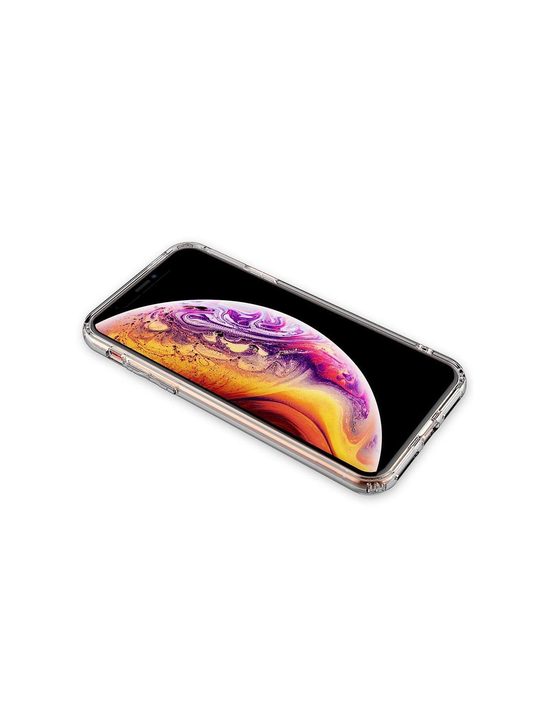 Ultratenký priehľadný silikónový obal pre iPhone XS 3