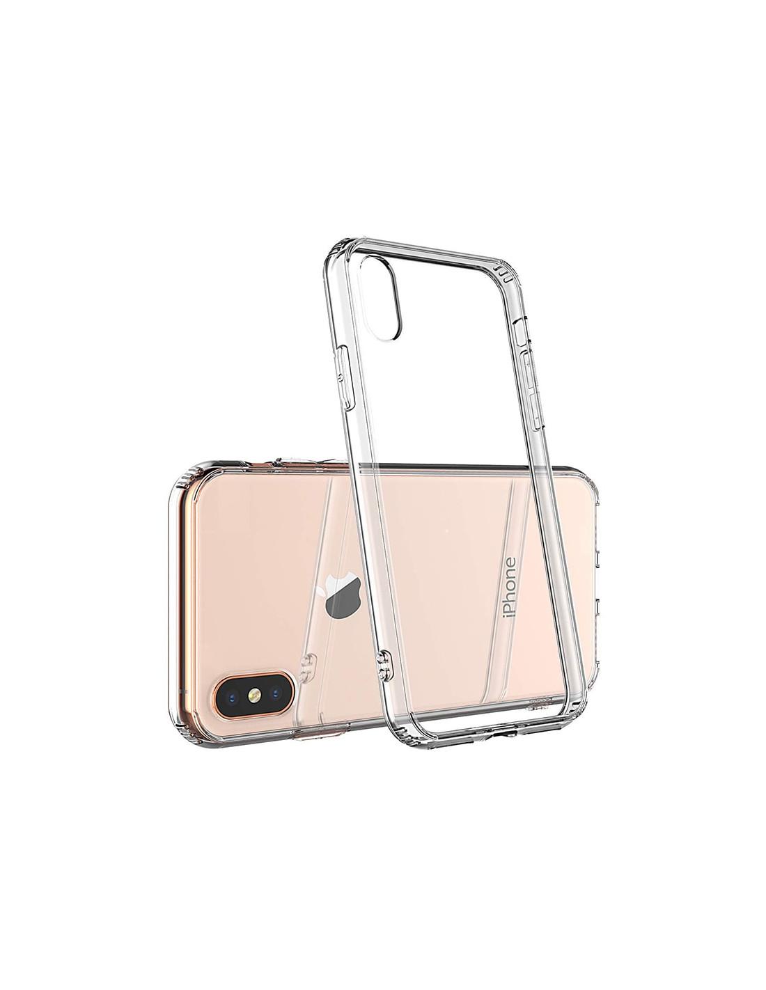 Ultratenký priehľadný silikónový obal pre iPhone XS 2