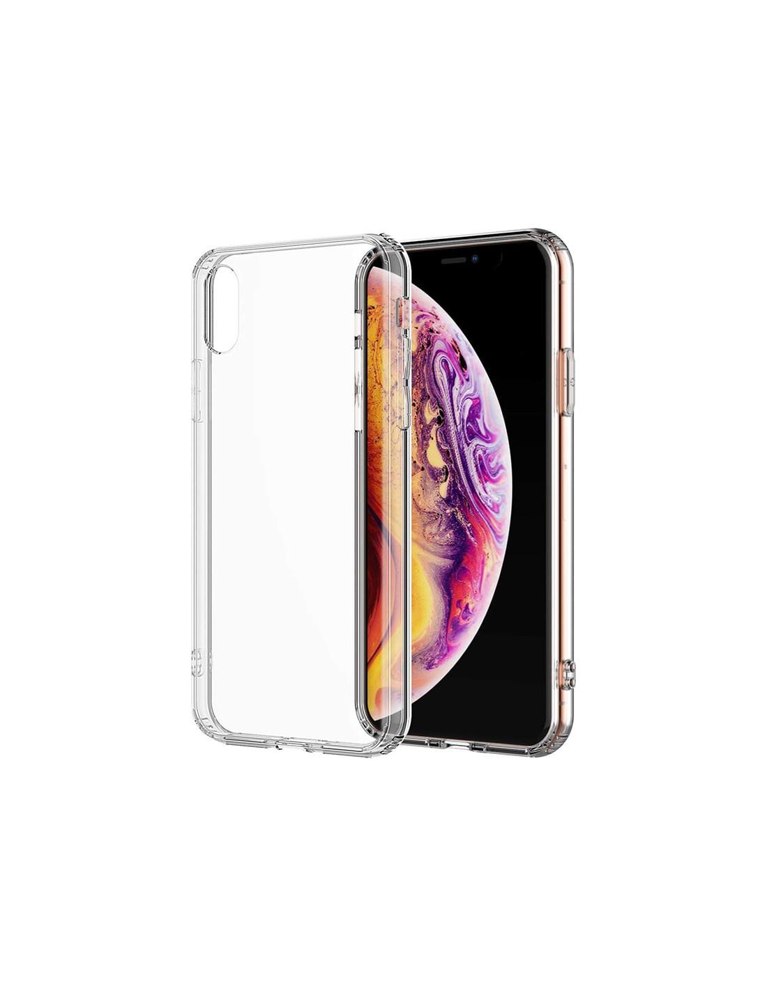 Ultratenký priehľadný silikónový obal pre iPhone XS 1