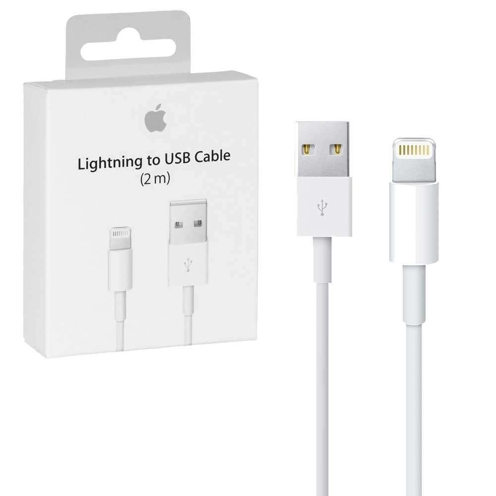 Apple USB kábel s konektorom Lightning - 1m 2