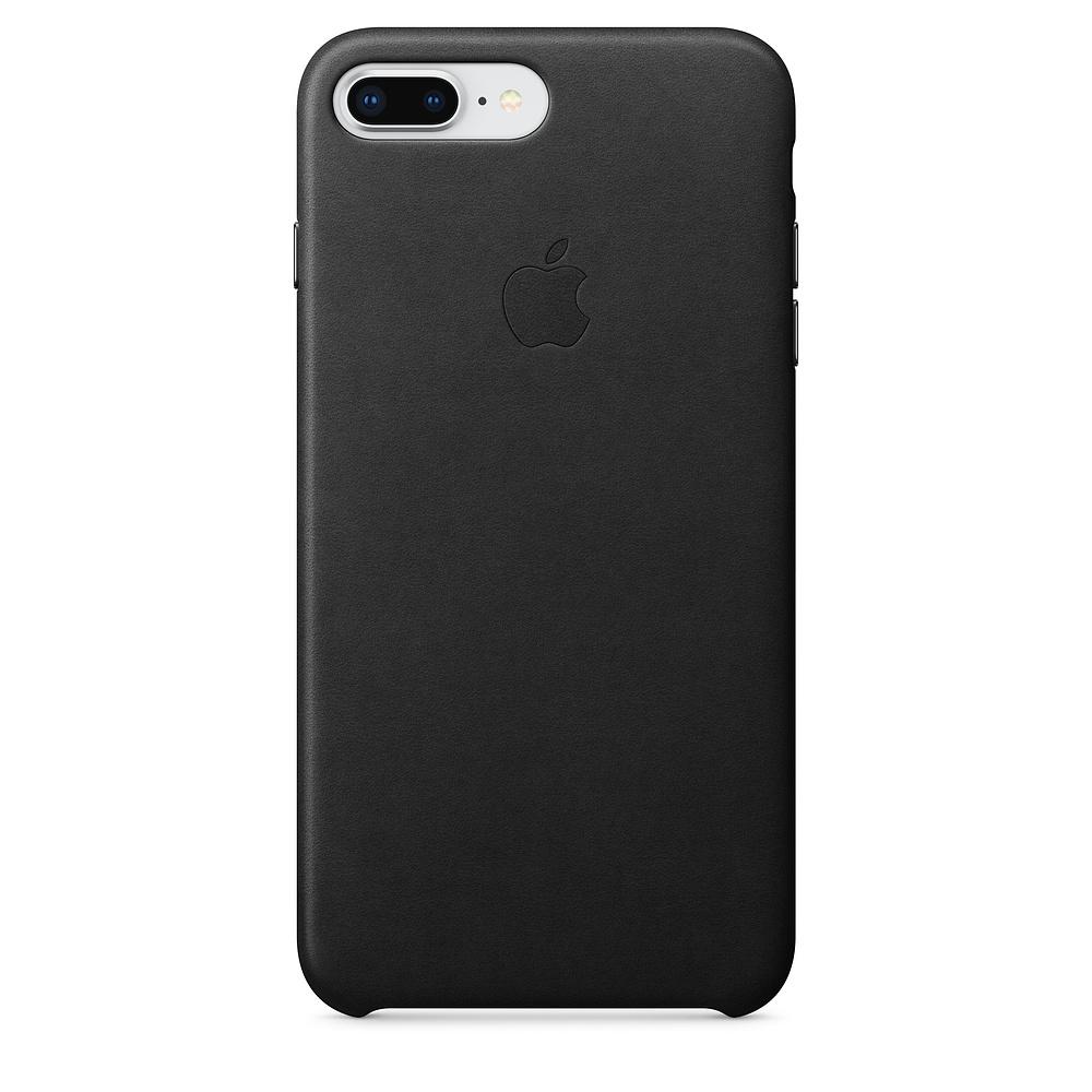 Apple kožený obal pre iPhone 7 Plus / 8 Plus – čierny 1