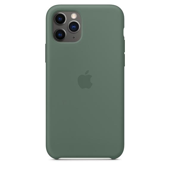 Apple silikónový obal pre iPhone 11 Pro - borovicová 1