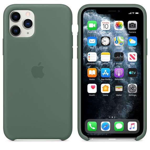 Apple silikónový obal pre iPhone 11 Pro - borovicová 3