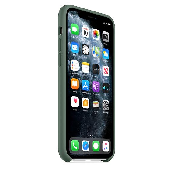 Apple silikónový obal pre iPhone 11 Pro - borovicová 2