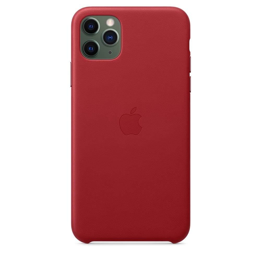 Apple kožený obal pre iPhone 11 Pro – (PRODUCT)RED 3