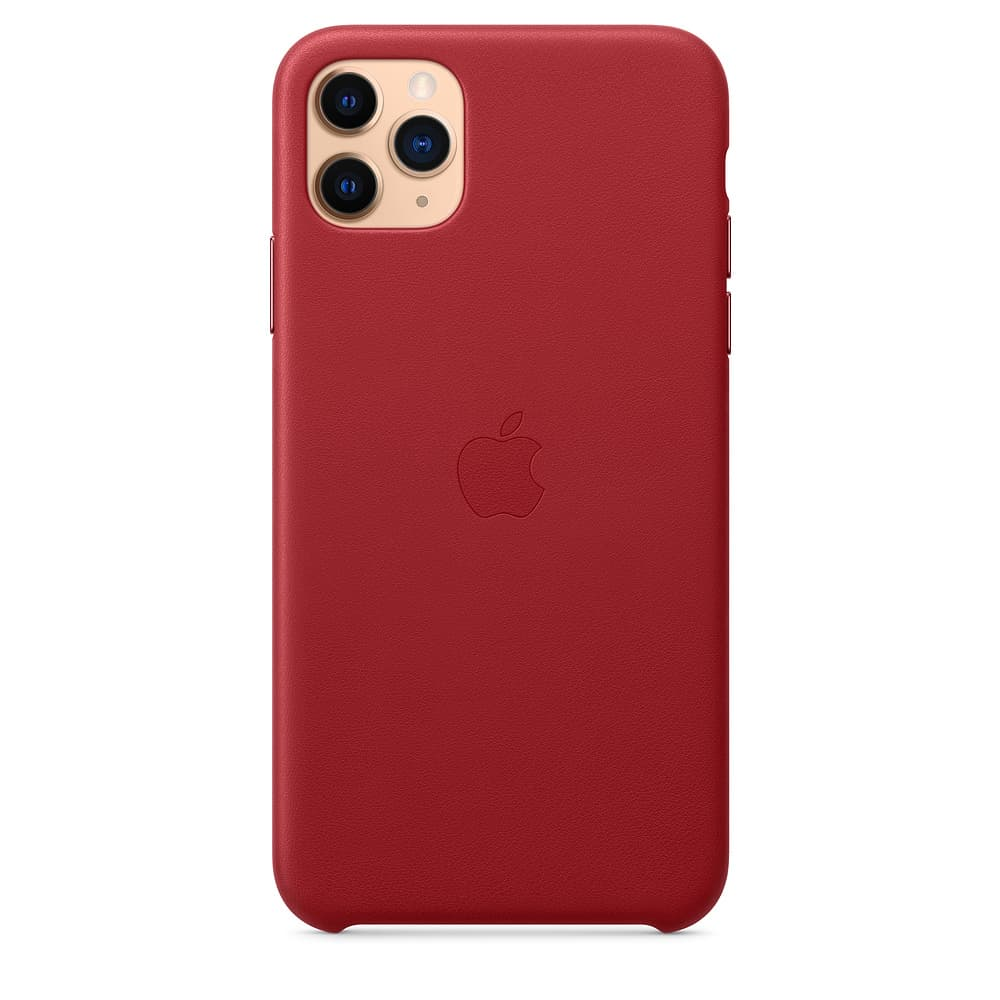 Apple kožený obal pre iPhone 11 Pro – (PRODUCT)RED 1