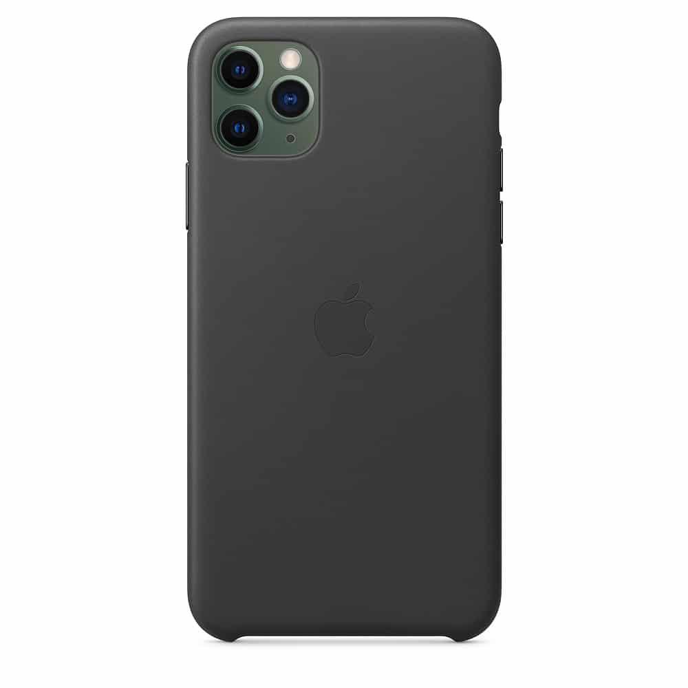 Apple kožený obal pre iPhone 11 Pro Max – čierny 3