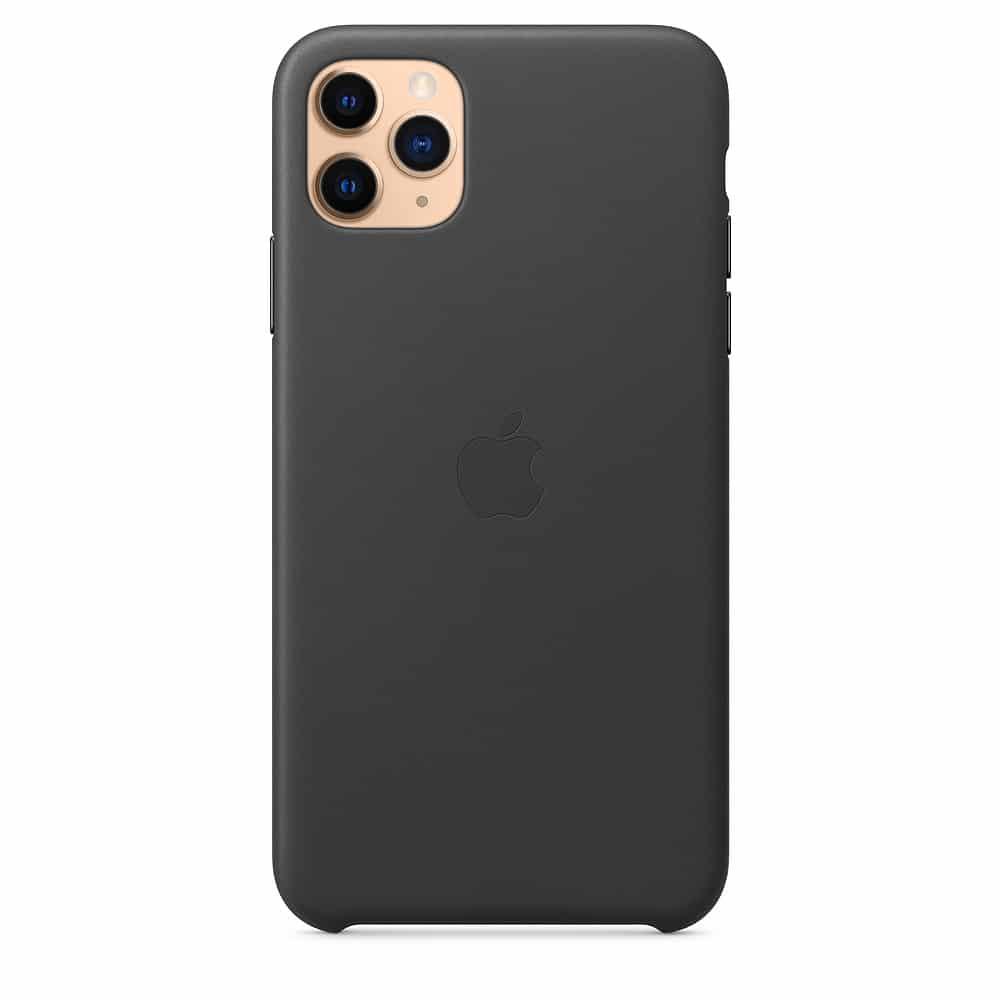 Apple kožený obal pre iPhone 11 Pro Max – čierny 1