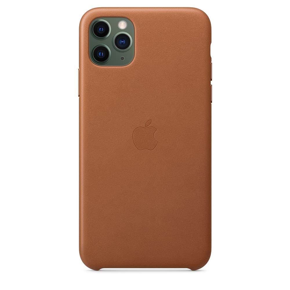 Apple kožený obal pre iPhone 11 Pro – sedlovo hnedá 3