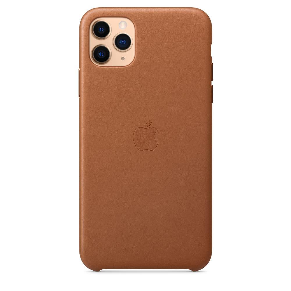 Apple kožený obal pre iPhone 11 Pro – sedlovo hnedá 1