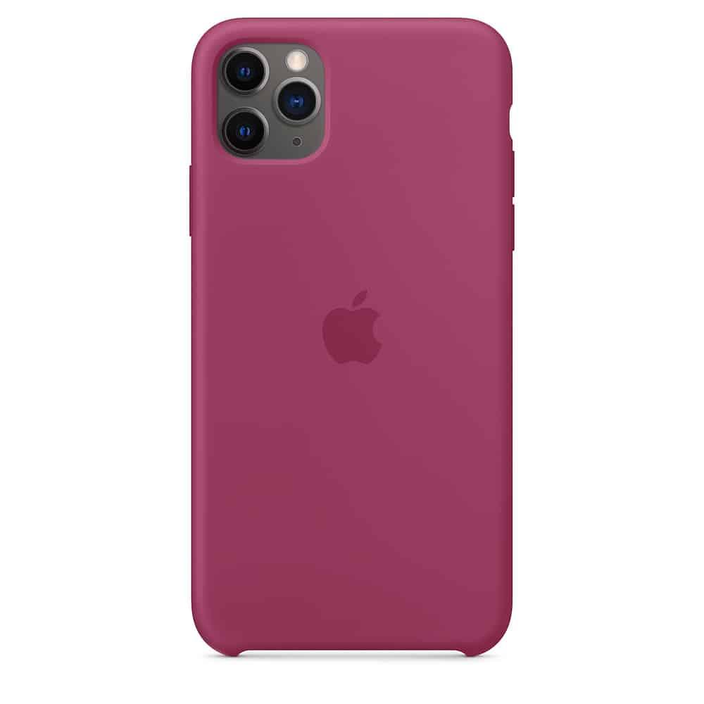 Apple silikónový obal pre iPhone 11 - bordový 1