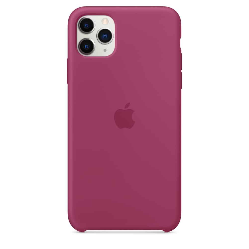 Apple silikónový obal pre iPhone 11 - bordový 3