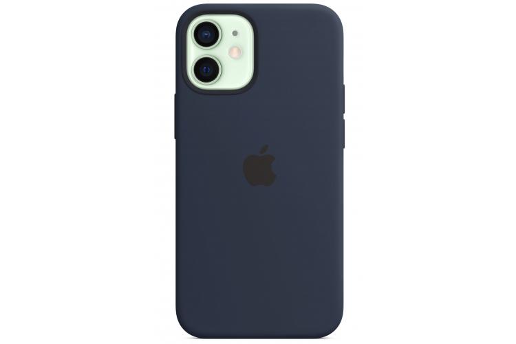 Apple silikónový obal pre iPhone 12 Mini – námornícky tmavomodrý 1